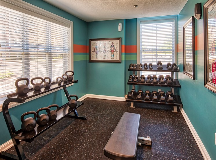 Gym at Smiths Landing Apartments