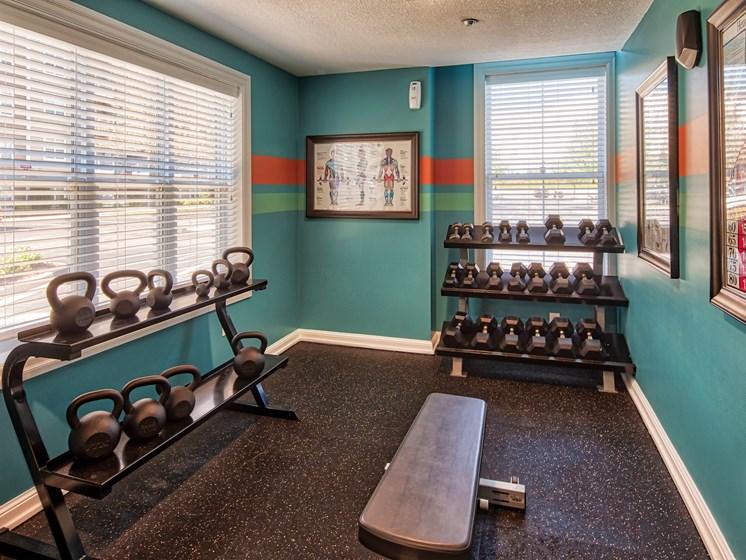 Gym at Smiths Landing Apartments