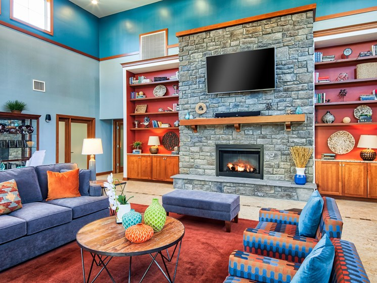 Clubhouse at student apartments near VT