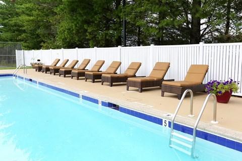 Pool at Barrington Apartments in Manassas VA