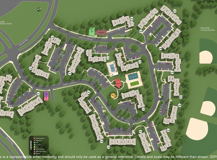 Property Site Map at Crosstimbers Apartments