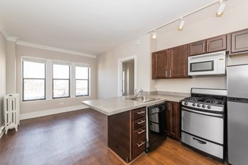 4157 North Clarendon Avenue Studio-1 Bed Apartment for Rent Photo Gallery 1
