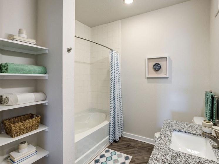 MOdern Bathroom,at Estero Parc, Estero, FL, 33928