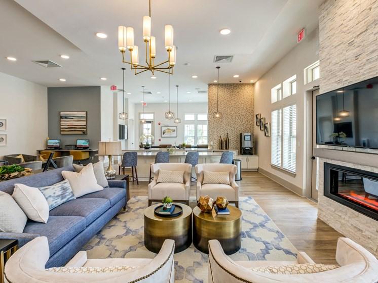 Resident Clubroom, at Estero Parc, Estero, FL, 33928