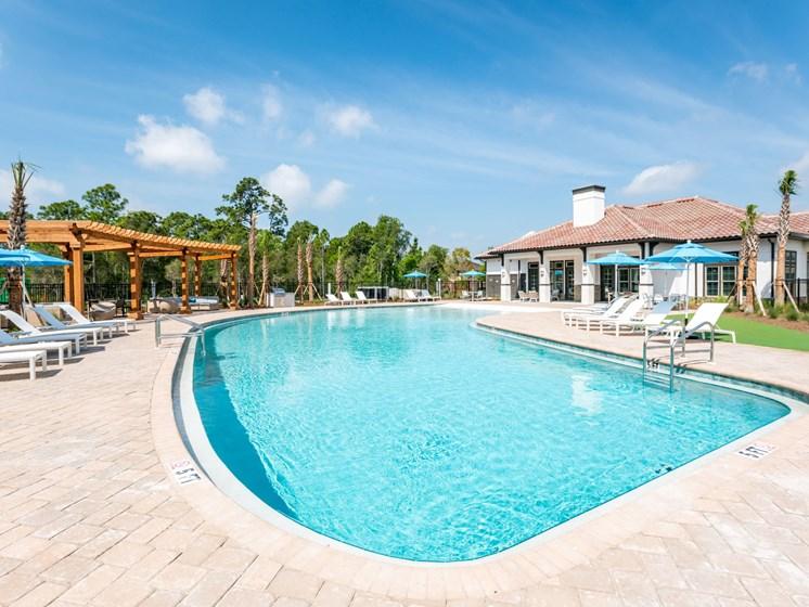 Sparkling Swimmin Pool,at Estero Parc, Estero, FL, 33928