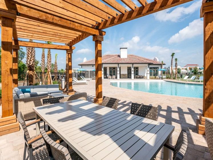 Swimming Pool and Sundeck, at Estero Parc, Estero, FL, 33928