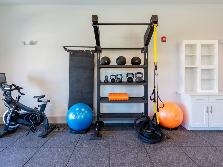 Fitness Center With Modern Equipment at Estero Parc, Estero
