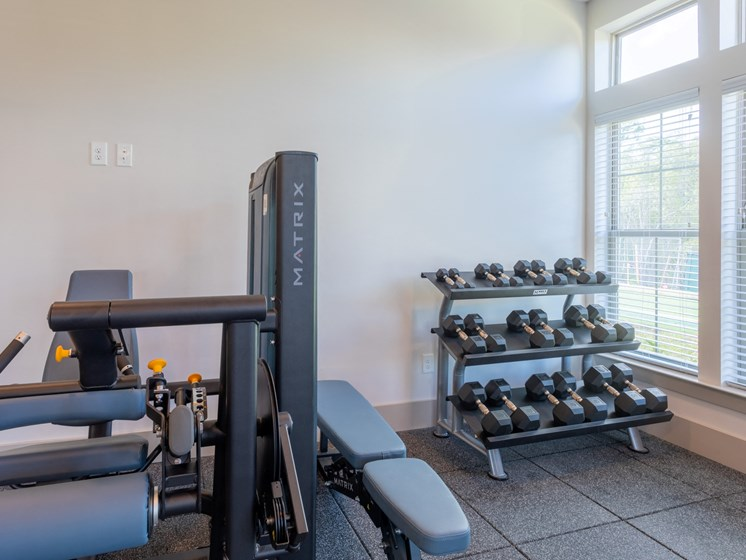 Fitness Center Free Weights at Estero Parc, Estero, 33928