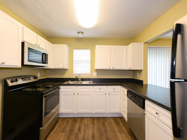 Hidden Colony Apartments Renovated Kitchen
