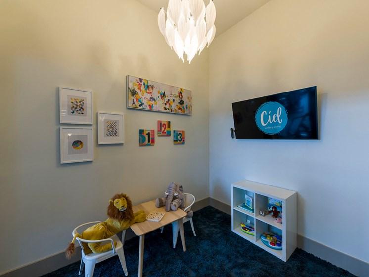 Ciel Luxury Apartments | Jacksonville, FL | Fitness Center Kids Zone