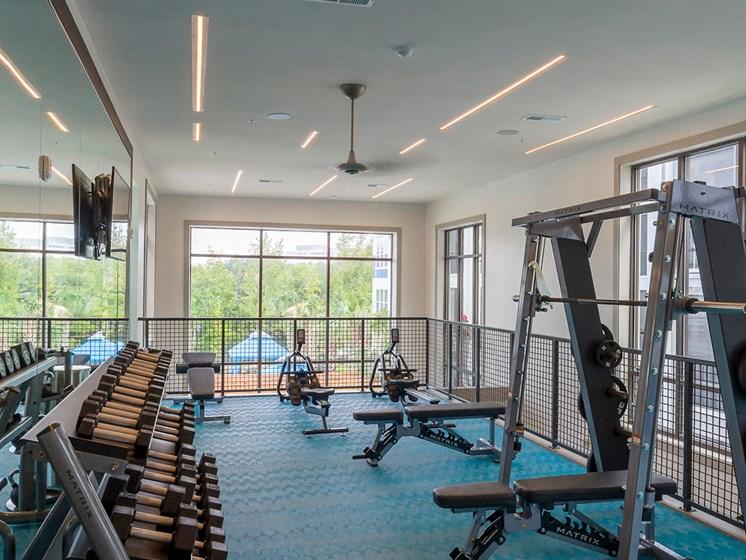 Ciel Luxury Apartments | Jacksonville, FL | Fitness Center