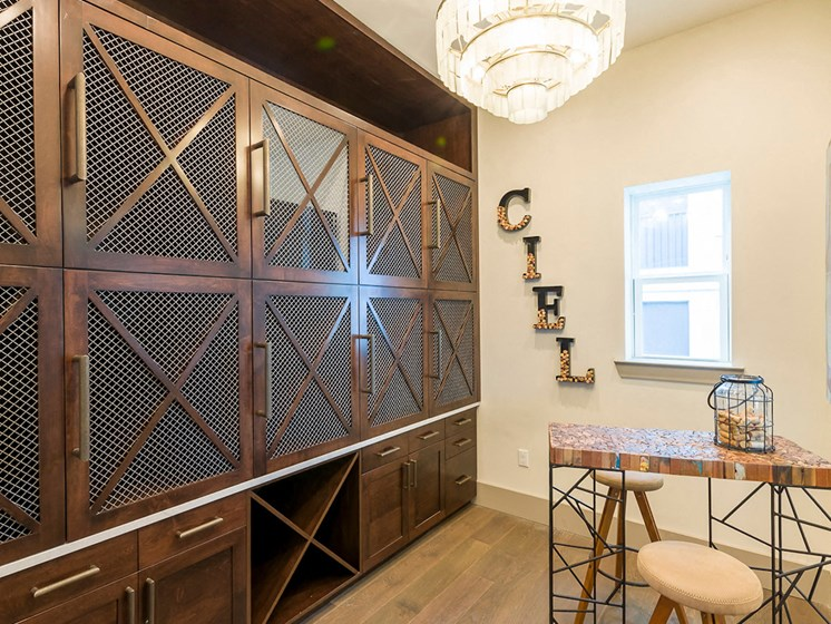 Ciel Luxury Apartments | Jacksonville, FL | Climate Control Wine Lockers