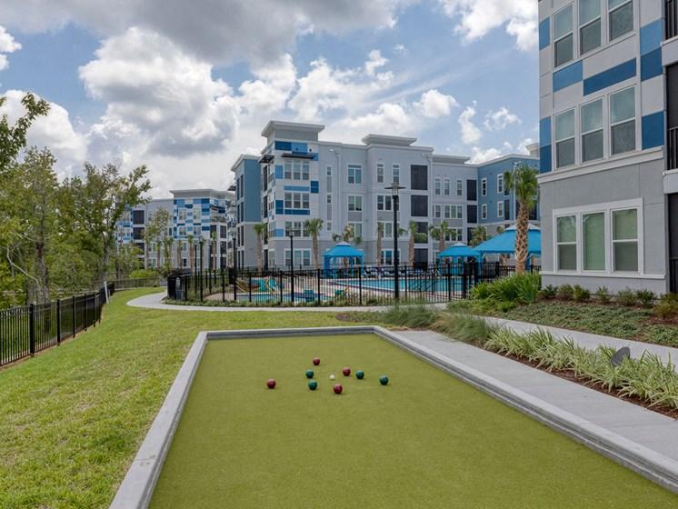 Ciel Luxury Apartments | Jacksonville, FL | Bocce Ball Court