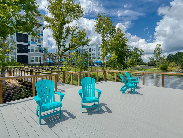 Ciel Luxury Apartments | Jacksonville, FL | Scenic Lake with Boardwalk