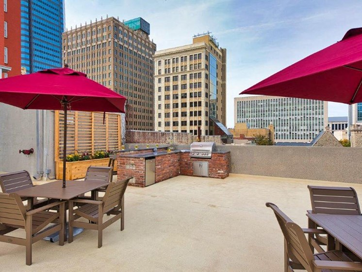 The Carling Apartments Rooftop Lounge