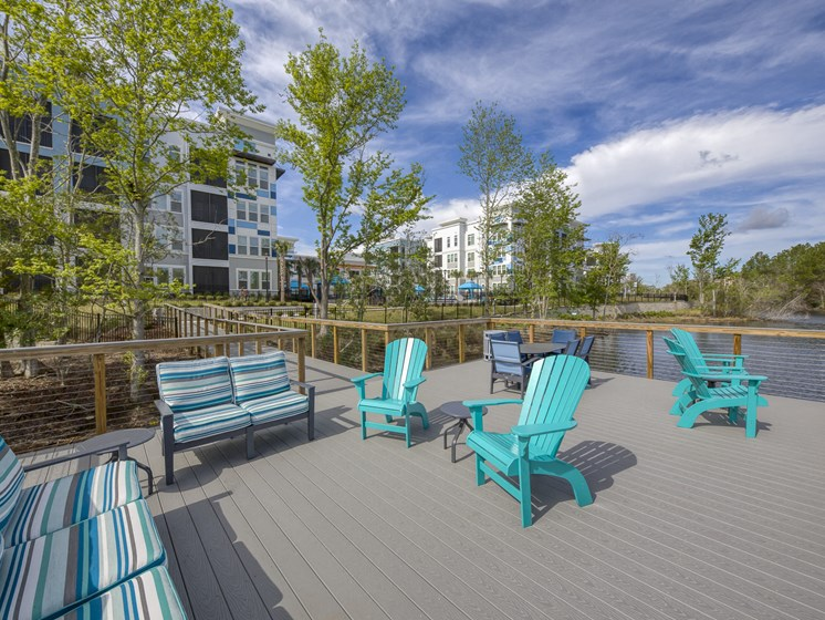 Ciel Luxury Apartments | Scenic Lake with Boardwalk