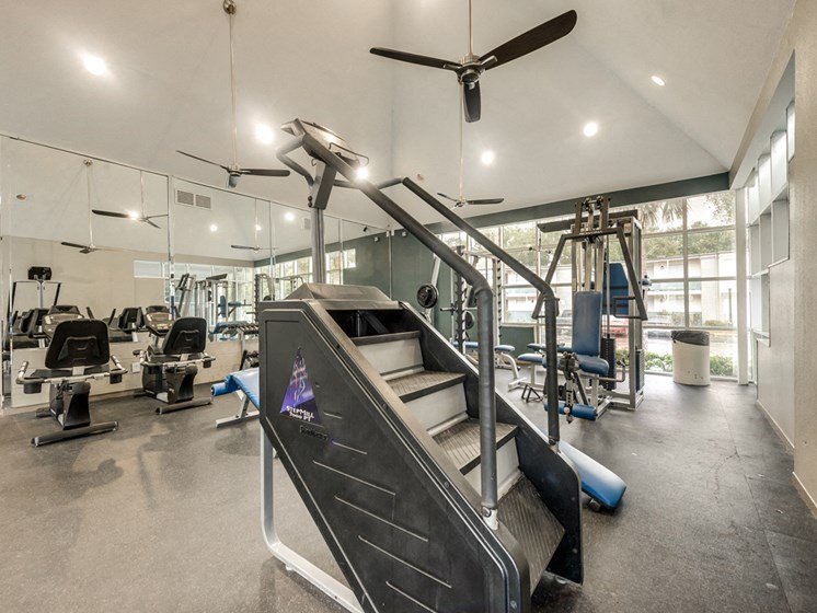 Turtle Pointe Apartments Fitness Center