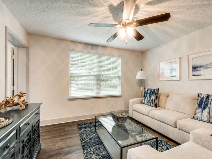 Bahia Cove Apartments Model Living Room