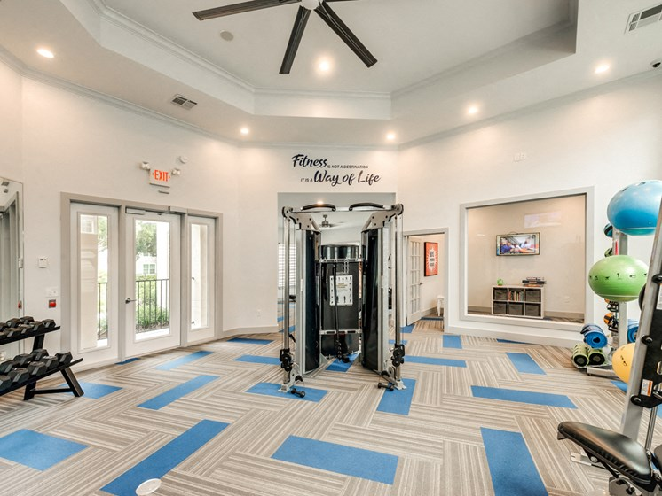 Bahia Cove Apartments Fitness Center