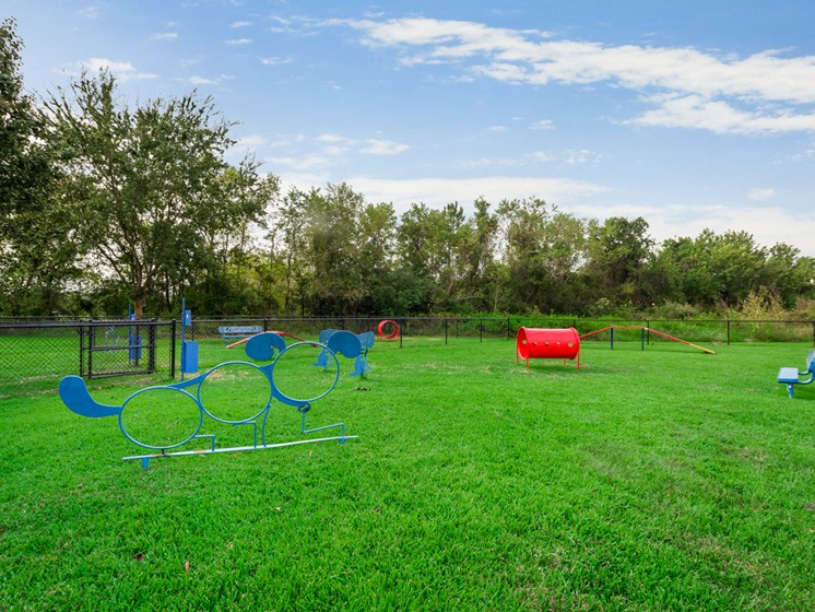 Bahia Cove Apartments Bark Park