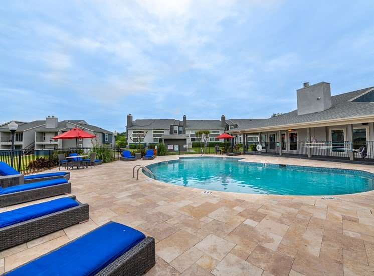Westridge Apartments Pool with Sundeck