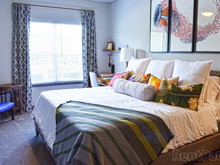 Expansive Bedroom with Large Closets with Ample Storage