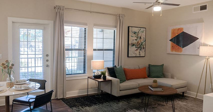 Living Room Apartments in Lewisville TX for rent