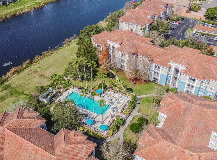 Aerial View Of The Property at The Boot Ranch Apartments, Florida