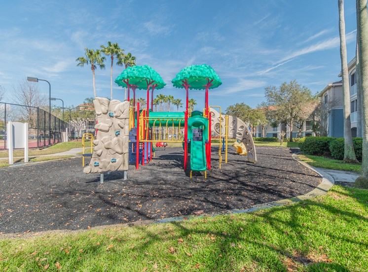 Play Area at The Boot Ranch Apartments, Palm Harbor, Florida