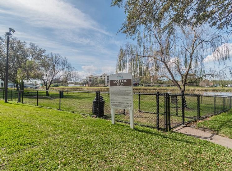 Dog Park at The Boot Ranch Apartments, Palm Harbor, FL