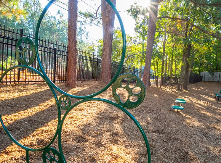 Dog Park With Agility Equipment at The Stratford, Atlanta, 30342