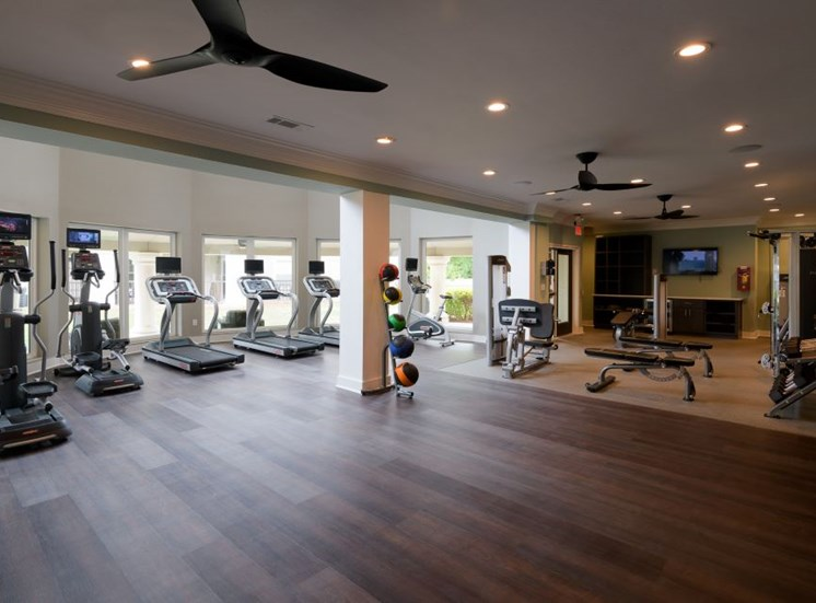 State-of-the-art-fitness-center at The Stratford, Atlanta