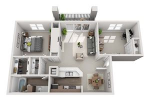Red Cedar Floorplan