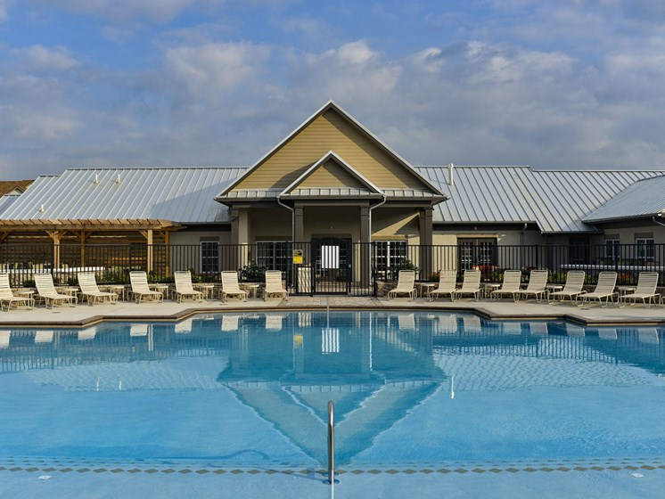 Swimming Pool at 9910 Sawyer Apartment Homes in Louisville, Kentucky, KY