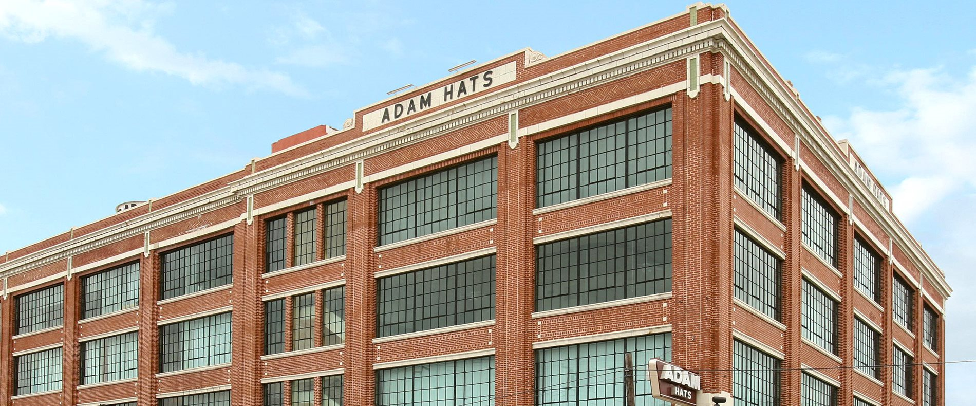 Building Exterior at Adam Hats Lofts in Deep Ellum, Dallas, Texas, TX