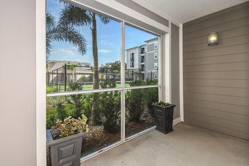 Sunroom Interior View at  Dunedin Commons Apartment Homes in Dunedin, Florida, FL