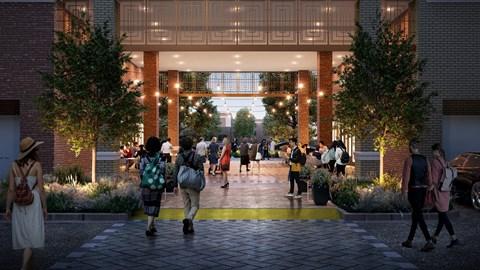 Building Breezeway   Epoch on Eagle   Apartments in Denton, TX