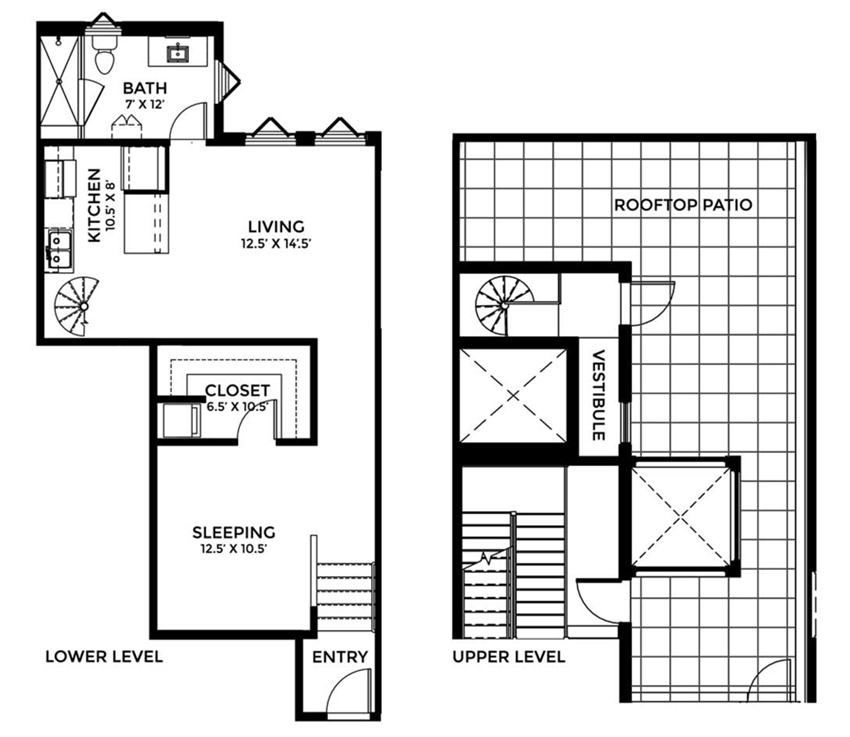 882 SF (INCOME RESTRICTED UNIT)