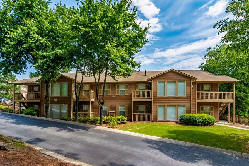 Apartment Building at Oakley Run Apartment Homes in Smyrna, Georgia, GA