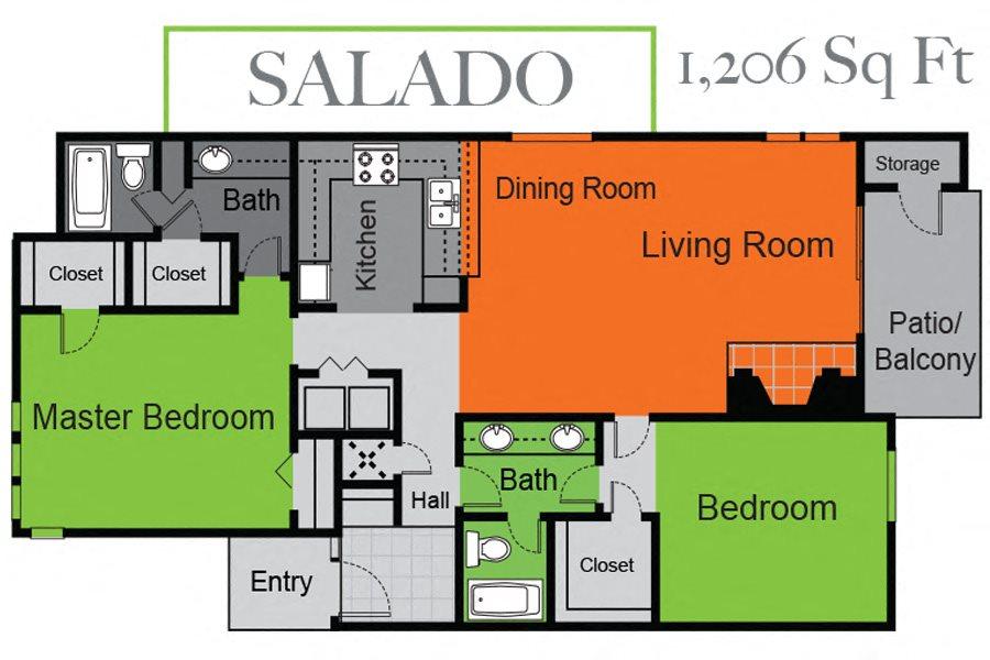 Salado Floor Plan 4
