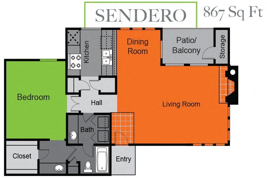 Sendera Floor Plan 2