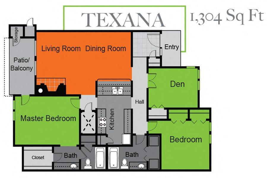 Texana Floor Plan 5