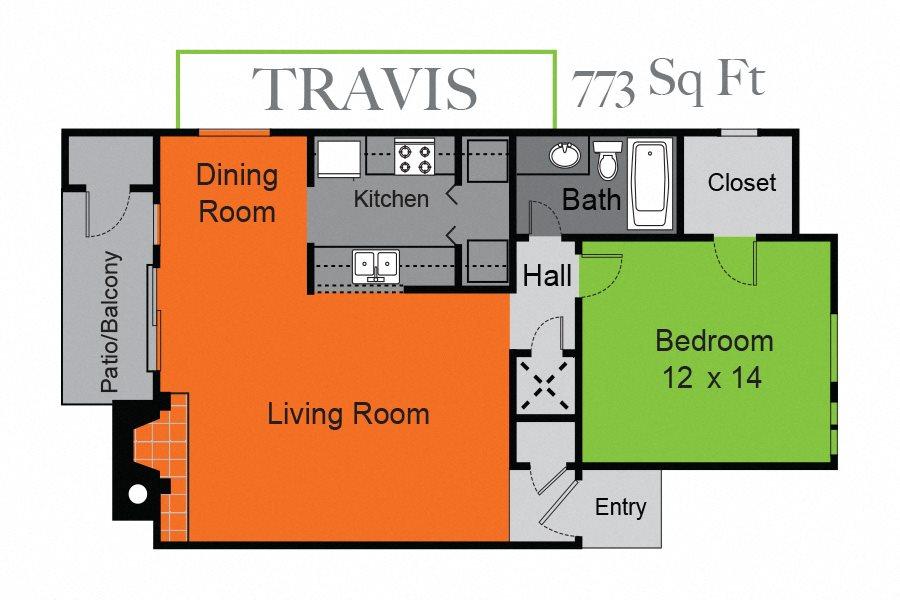 Travis Floor Plan 1