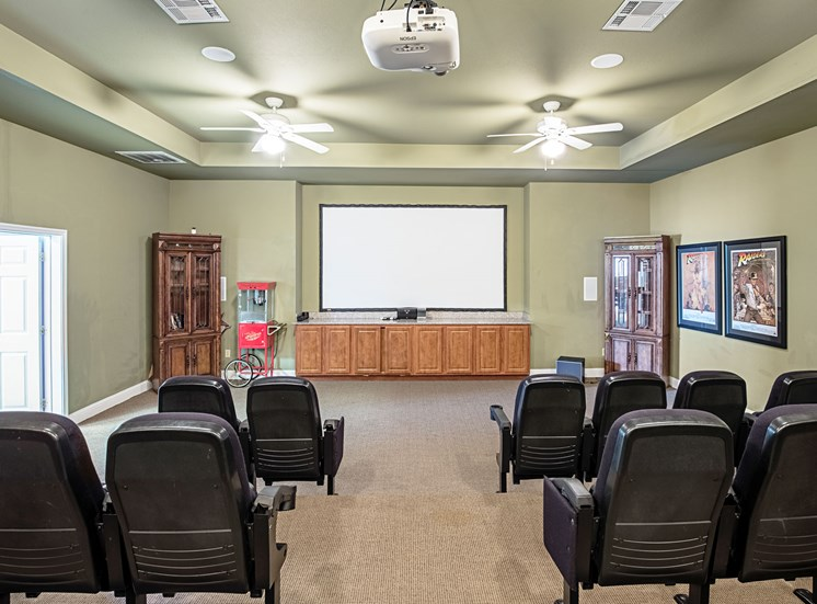Community Theater at Bridgemoor at Killeen Apartments in Killeen, Texas, TX
