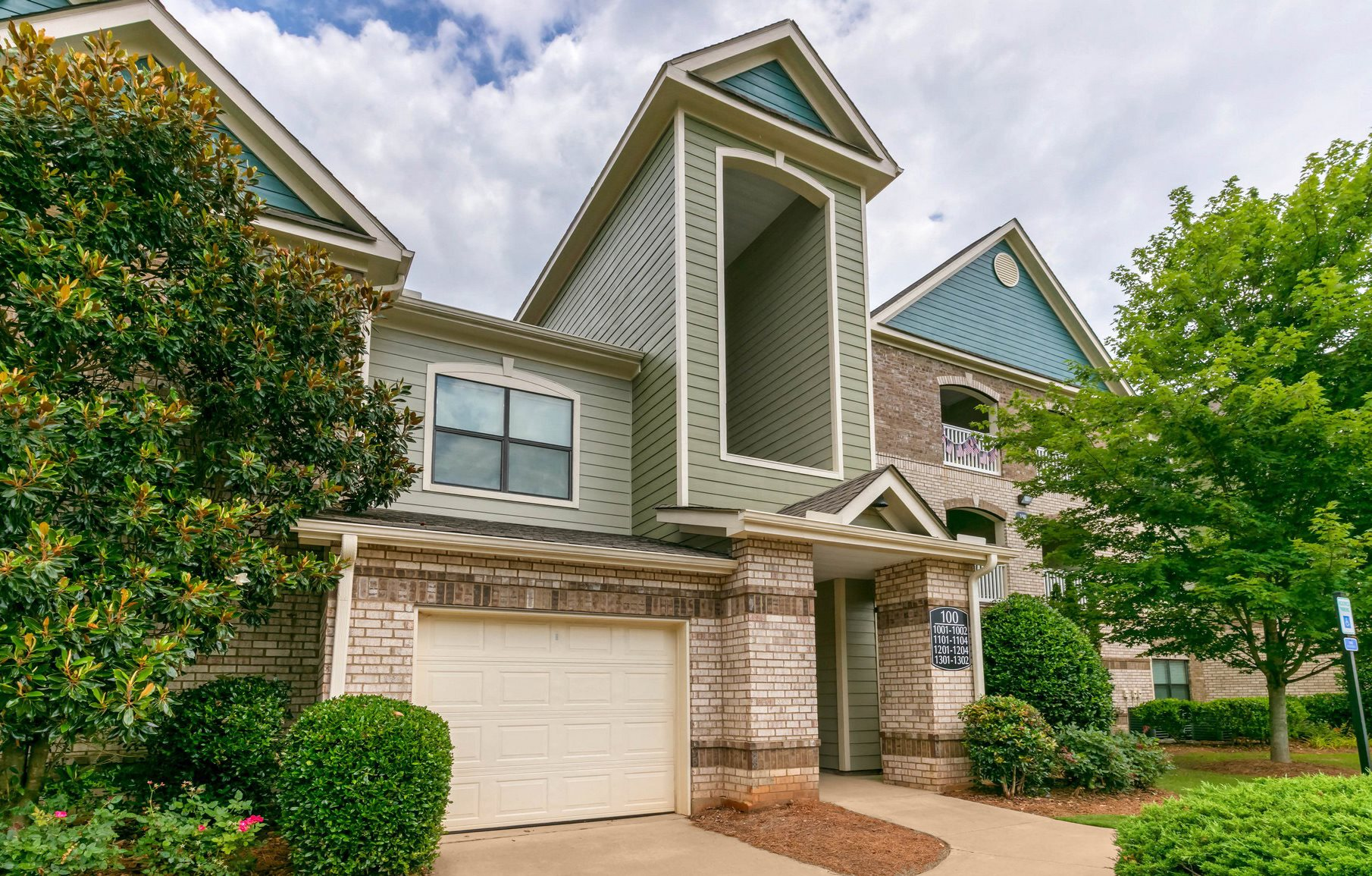 Attached Garages at Waterstone Apartment Homes in Buford, Georgia, GA