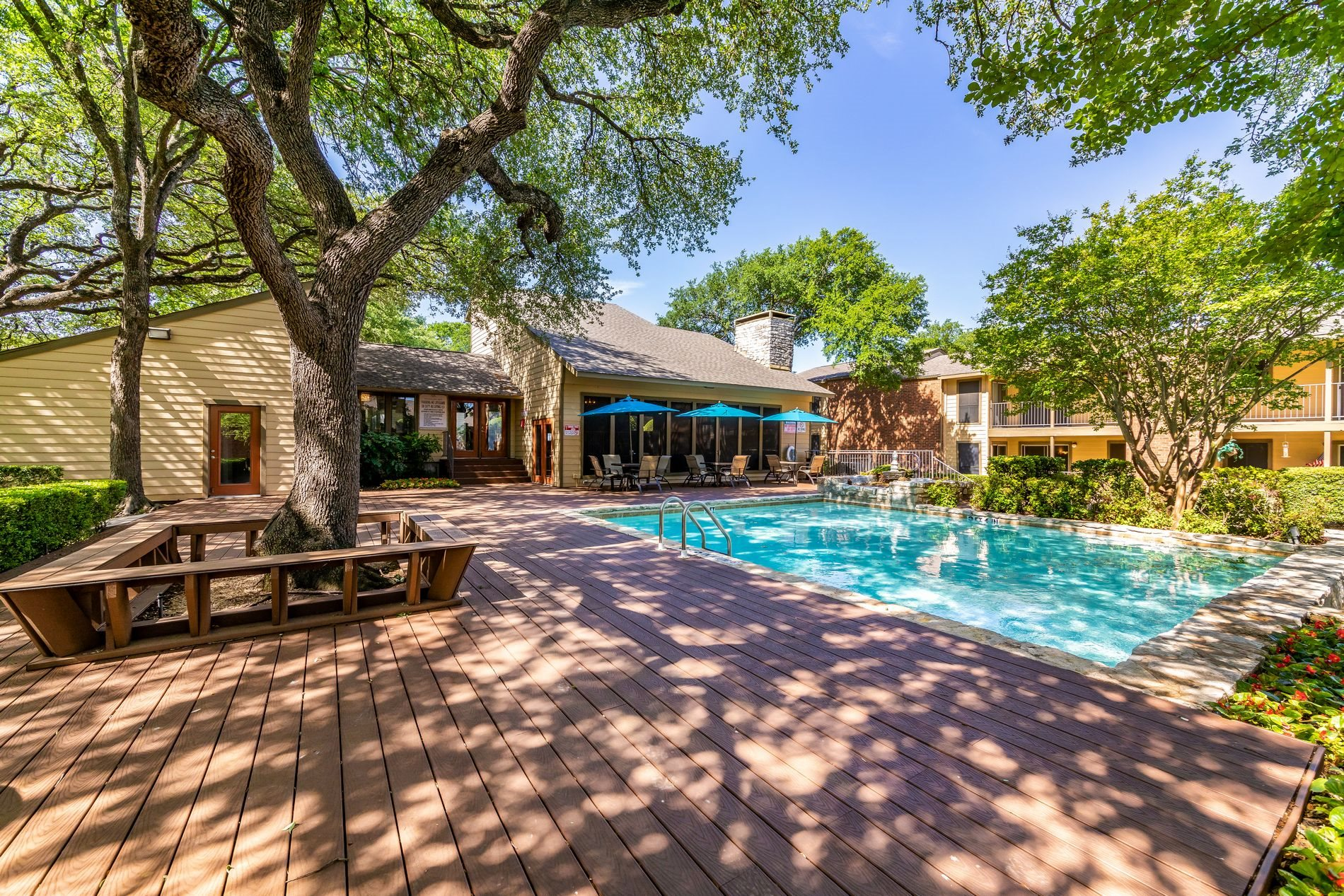 Pool Deck at Westdale Pointe Apartment Homes in Austin, Texas, TX
