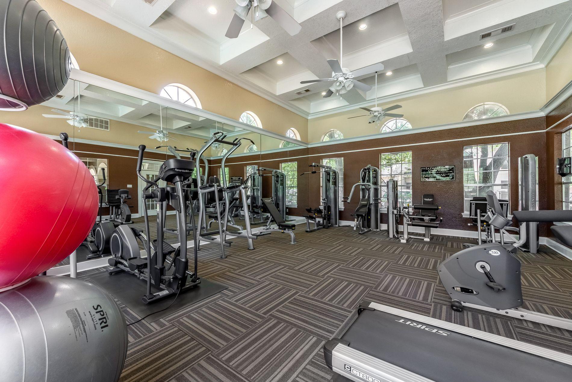 Model Fitness Center at La Costa Apartments in Plano, Texas, TX