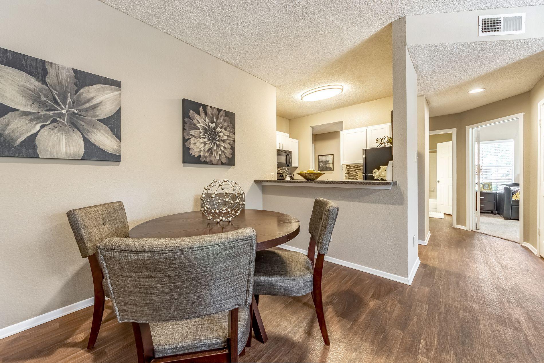 Model Dining Area at La Costa Apartments in Plano, Texas, TX