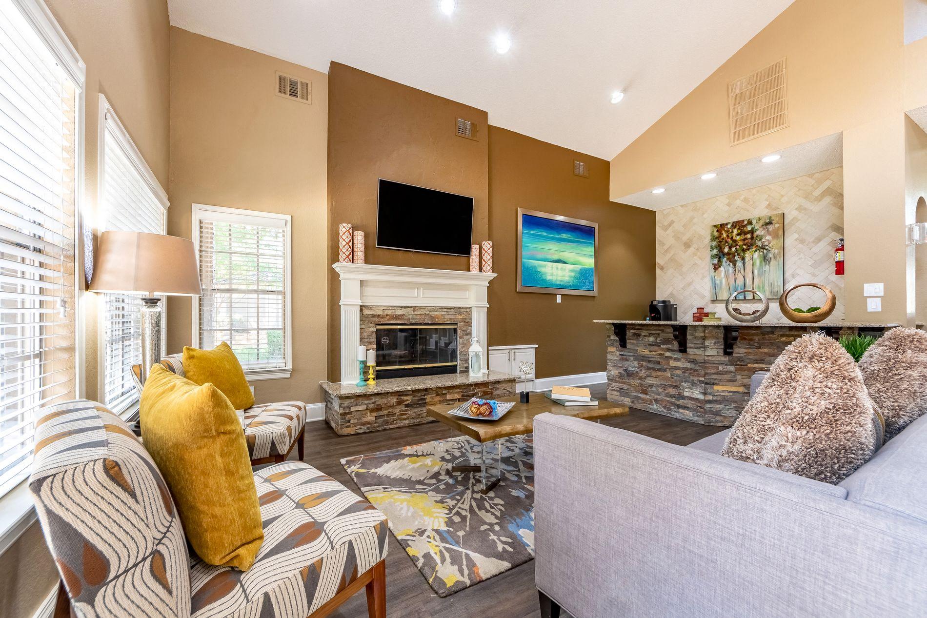 Leasing Office Interior at La Costa Apartments in Plano, Texas, TX