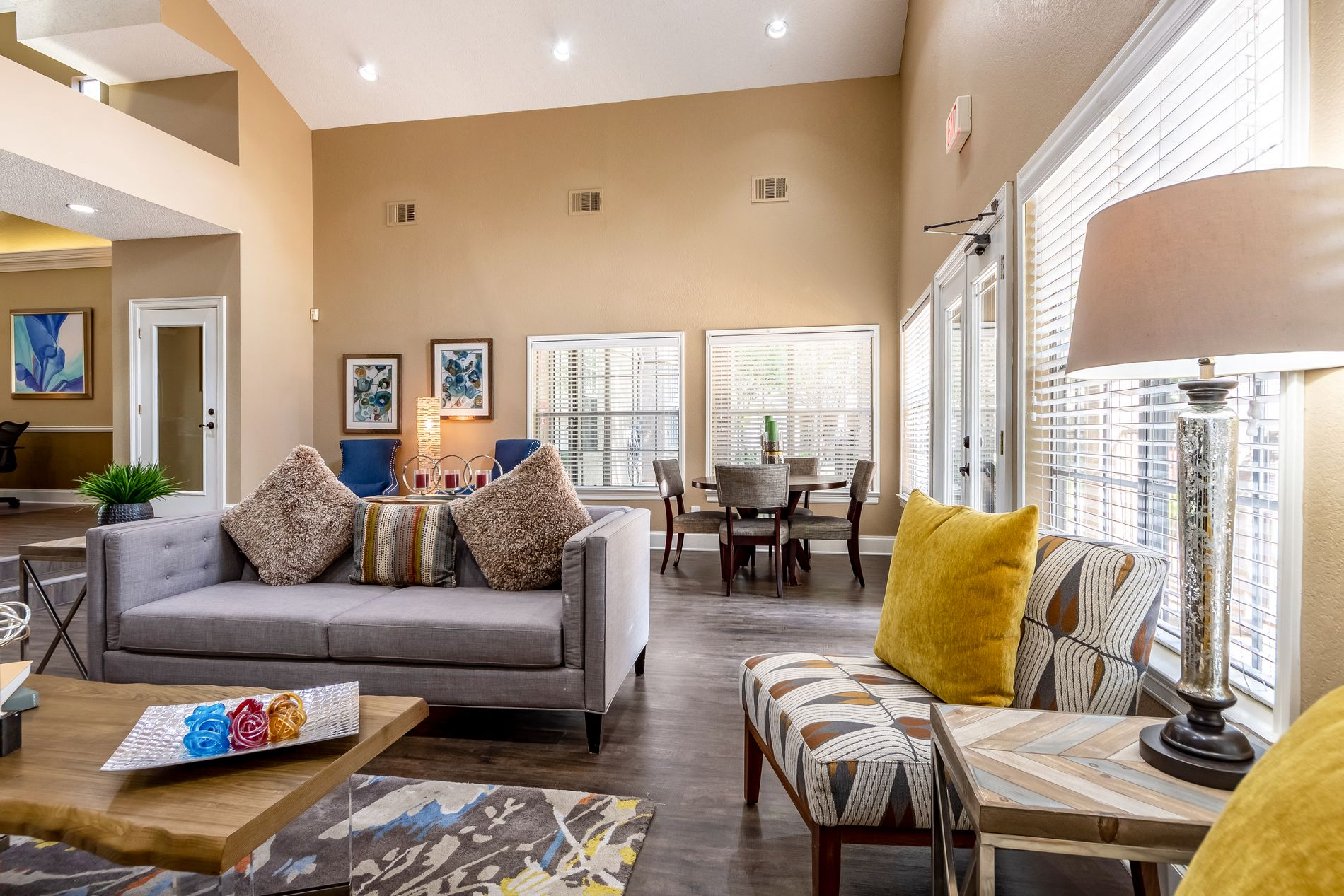 Clubhouse Interior At La Costa Apartments In Plano, Texas, TX